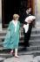 Le prince et la princesse de Galles quittant l'Hôpital St Mary avec leur fils nouveau-né, le prince William. Londres (Angleterre), quartier de Paddington, 22 juin 1982. © TopFoto/Roger-Viollet