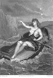 "Velleda on the lake. Illustration pour ""Les Martyrs"" de François-René de Chateaubriand. Engraving by Thibault, after G. Staal. © Roger-Viollet"