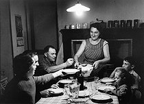 Soup at a farmers' house. Brillac (France), 1957. Photograph by Janine Niepce (1921-2007). © Janine Niepce / Roger-Viollet