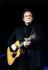 Johnny Cash (1932-2003), chanteur et musicien américain, en concert. Etats-Unis, 10 avril 1997.   © Ullstein Bild / Roger-Viollet