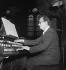 Olivier Messiaen (1908-1992), French composer, organist and music teacher. Paris, March 1952. © Boris Lipnitzki / Roger-Viollet