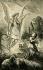 """""""La vision de Jeanne d'Arc (1412-1431), sainte et héroïne française"""". Collection J. Abecassis. © TopFoto/Roger-Viollet"""