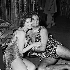 """L'Ultimo selvaggio"" by Gian Carlo Menotti. Mady Mesplé and Gabriel Bacquier. Paris, Opéra-Comique, October 1963. © Studio Lipnitzki / Roger-Viollet"