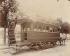 """Tramway Gare du Nord-boulevard de Vaugirard, Gare du Nord. Album """"La Voiture à Paris"""", 1910. Photographie d'Eugène Atget (1857-1927). Paris, musée Carnavalet. © Eugène Atget / Musée Carnavalet / Roger-Viollet"""
