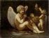 """Pierre-Paul Prudhon (1758-1823). """"Les Préparatifs de la guerre ou Les Apprêts de l'Amour"""". Oil on canvas. Paris, musée Cognacq-Jay.   © Musée Cognacq-Jay/Roger-Viollet"""