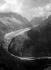 Chamonix (Haute-Savoie). Glacier seen from the Flégère.                   © Charles Hurault/Roger-Viollet