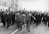 Kim Il Sung en visite à Berlin, avec Erich Honecker (à droite), Marx-Engels-Platz, Berlin (Allemagne). 1er juin 1984. © Ullstein Bild / Roger-Viollet