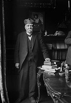 Georges Clemenceau (1841-1929), French statesman, at his place. © Albert Harlingue / Roger-Viollet