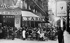Le Dôme café in Montparnasse. Paris. © Roger-Viollet