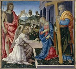 """Filippo Lippi dit Filippino (1457-1504). """"Annonciation et saints"""". Huile sur toile, vers 1485. Naples (Italie), musée national de Capodimonte.   © Alinari / Roger-Viollet"""