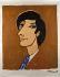 """Bernard Villemot (1911-1989). """"Galerie de portraits pour Contrexéville et Perrier. Affiche"""". Lithographie en couleur, 1971. Paris, Bibliothèque Forney.  © Bibliothèque Forney / Roger-Viollet"""