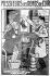 """Affiche du film """"Messieurs les Ronds de Cuir"""", d'après Georges Courteline, par A. Leymarie.    © Roger-Viollet"""