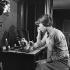 """L'Amant de Cinq Jours"", film de Philippe de Broca. Jean Seberg. France, 2 novembre 1960.  © Alain Adler / Roger-Viollet"