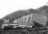 Nouvelle-Calédonie. Maison ouvrière des mines de nickel déplacée par un cyclone. 23 février 1898.      © Jacques Boyer/Roger-Viollet