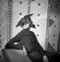 Chapeau Agnès (période d'activité vers 1918-1949). Paris, février 1936.  © Boris Lipnitzki/Roger-Viollet