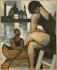 """Marcel Gromaire (1892-1971). """"Le canoë"""". Huile sur toile, 1930. Paris, musée d'Art moderne. © Musée d'Art Moderne/Roger-Viollet"""