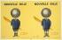 """Raymond Savignac (1907-2002). """"Nouvelle bille Bic"""". Affiche, 1961. Lithographie en couleur. Paris, Publicité J. Landault. Paris, bibliothèque Forney. © Bibliothèque Forney / Roger-Viollet"""