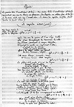 """Autograph libretto of the opera of Hector Berlioz """"Les Troyens"""" (1855-1858). The role of Rapsode. © Roger-Viollet"""