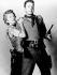"""Cattle Queen of Montana"", film de Allan Dwan. Barbara Stanwyck et Ronald Reagan. 1954.  © Ullstein Bild / Roger-Viollet"