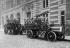 Delahaye fire engine. Firemen from the Carpeaux barracks. Paris, 1909. © Maurice-Louis Branger/Roger-Viollet