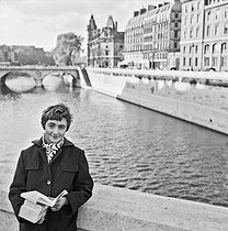 Françoise Sagan (1932-2004), French woman of letters © Jacques Rouchon / Roger-Viollet