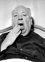 Alfred Hitchcock (1899-1980), English-born American director. © Roger-Viollet