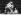 Combat entre Antonio Inoki (né en 1943), catcheur japonais, et Mohamed Ali (anciennement Cassius Marcellus Clay, 1942-2016), boxeur américain. Tokyo (Japon), 26 juin 1972. © TopFoto / Roger-Viollet