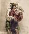 "Gavarni (1804-1866). ""Dachu! Dachu!, tu m'ennuies..../ Non, Norinne, c'est toi qui t'ennuies."". Le Charivari, 22 avril 1846. Lithographie. Paris, Maison de Balzac.  © Maison de Balzac/Roger-Viollet"