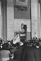 Pius XII's coronation. Rome, on March 12, 1939. © Roger-Viollet