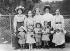 Russian émigrés in Paris, circa 1909-1910. © Pierre Choumoff / Roger-Viollet