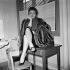 """""""Le long des trottoirs"""", film de Léonide Moguy. Joëlle Bernard. France-Italie, 1956. 8 février 1956. © Alain Adler / Roger-Viollet"""