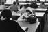 Library of Vincennes University (Val-de-Marne), 1969. Photograph by Janine Niepce (1921-2007). © Janine Niepce / Roger-Viollet