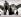 Le prince Rainier de Monaco, la princesse Grace et leurs enfants Albert et Caroline fabriquant un bonhomme de neige, près de Gstaad (Suisse), 25 février 1960. © TopFoto / Roger-Viollet