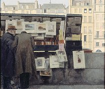 Bernard Boutet de Monvel (1881-1949). Secondhand bookseller on the quai des Grands-Augustins. Oil on canvas, circa 1949. Paris, musée Carnavalet.  © Musée Carnavalet / Roger-Viollet