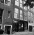 Façade de la maison d'Anne Frank (1929-1945). Prinsengracht, 263. Amsterdam (Pays-Bas). © Roger-Viollet