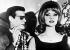 Le baron Pierre Cervello et sa maîtresse Mandy Rice-Davies (1944-2014), mannequin britannique. Munich (Allemagne), 5 février 1964. © TopFoto / Roger-Viollet