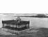 The tombstone of François-René de Chateaubriand (1768-1848), French writer and politician, on the Grand Bé island. Saint-Malo (France). © Léon et Lévy / Roger-Viollet