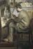 """Pierre-Auguste Renoir (1841-1919). """"Frédéric Bazille"""" (1841-1919),  (peignant  """"Le Héron aux ailes déployés""""). Huile sur toile, 1867. Paris, musée d'Orsay. © Iberfoto / Roger-Viollet"""