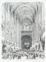 "A. Provost et Pignard. ""L'Illustration, journal Universel - inauguration du nouvel orgue de Notre-Dame, le 21 mars 1868"". Estampe. Paris, musée Carnavalet. © Musée Carnavalet / Roger-Viollet"