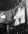 George Braque (1882-1963), French painter. Paris, 1949. © Roger-Viollet