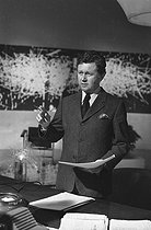Philippe Bouvard (born in 1929), French journalist, writer, radio and TV host, May 1973. © Roger-Viollet
