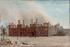 """Frans Moormans (1831-1893). """"Paris city hall after the 1871 fire"""". Oil on canvas. Paris, musée Carnavalet. © Musée Carnavalet/Roger-Viollet"""