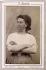 """Hortense David, timekeeper in the Avenue de l'Impératrice"". Photograph by Eugène Appert (1831-1890). Paris, musée Carnavalet. © Ernest Charles Appert/Musée Carnavalet/Roger-Viollet"