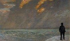 "Giovanni Fattori (1825-1908). ""Coucher de soleil sur la marina"", 1890-1895. Florence (Italie), galerie nationale d'art moderne du Palazzo Pitti. © Alinari/Roger-Viollet"