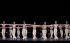 """""""Sept danses grecques"""", chorégraphie de Maurice Béjart, musique de Mikis Theodorakis. Ecole de danse de l'Opéra. Opéra Garnier. Paris, 7 avril 2010. © Colette Masson/Roger-Viollet"""
