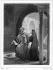 "Illustration for ""Les aventures du dernier Abencérage"", by François-René de Chateaubriand. Blanca and Ben-Hamet. Engraving by Burdet after Alaux (19th century). © Roger-Viollet"