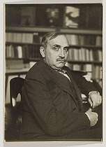 Paul Claudel (1868-1955), écrivain et auteur dramatique français. Paris, vers 1920. © Albert Harlingue/Roger-Viollet