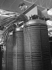 Sources of energy. Alsthom company: coils on connections. Saint-Ouen (France), 1931-1934. Photograph by François Kollar (1904-1979). Paris, Bibliothèque Forney. © François Kollar/Bibliothèque Forney/Roger-Viollet
