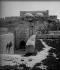 La porte Dorée de la mosquée d'Omar. Jérusalem (Palestine, Israël), vers 1865. © Léon et Lévy / Roger-Viollet