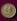 Médaille à l'effigie des constructeurs de l'Europe. Jean Monnet (1888-1979), économiste et diplomate français, et Paul-Henri Spaak (1889-1972), homme d'Etat belge. 1972. © Roger-Viollet